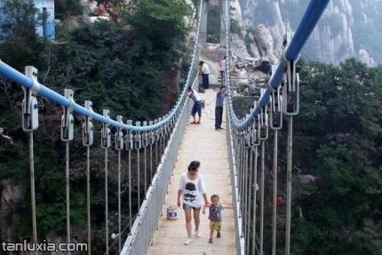 少林寺景點:連天索橋