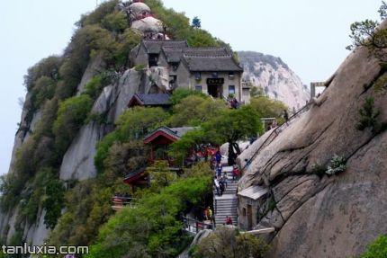 華山景點:北峰