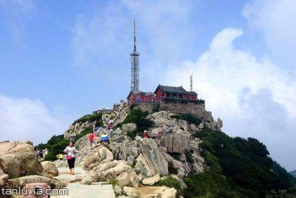 泰山景點:玉皇頂