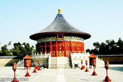 天坛公园景点:皇穹宇院落