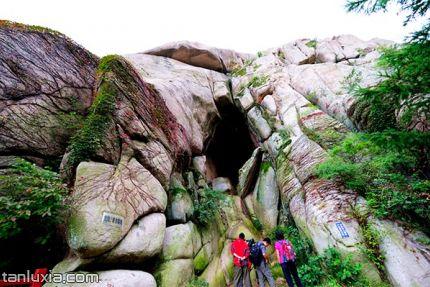崂山景点:那罗延窟