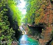 北碚金刀峽景區