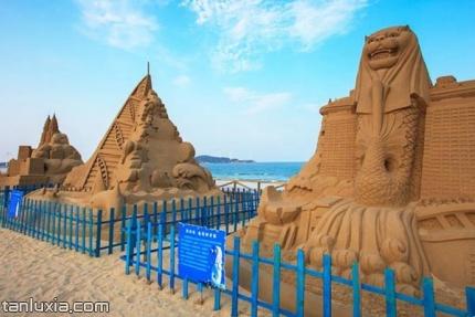 六鳌翡翠湾景区景点:沙雕园