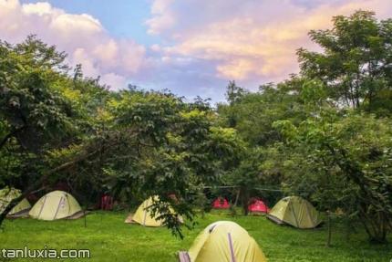 云灵山旅游景区景点:露营基地