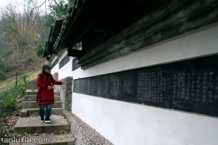 鹿門寺國家森林公園景點:碑廊