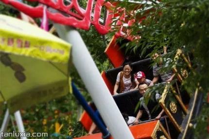 金象山乐园景点:欢乐谷