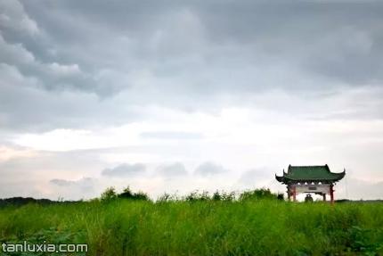 章丘白云湖景点:白云湖水乡