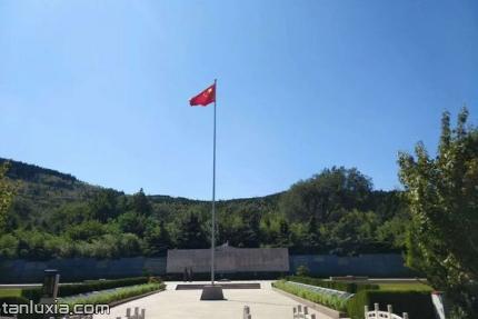 长清福寿园景点:山东老战士纪念广场
