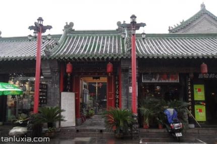 芙蓉街关帝庙景点:关帝庙正门