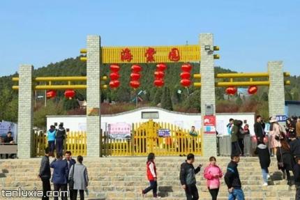 聖母山海棠園景點:聖母山海棠園入口