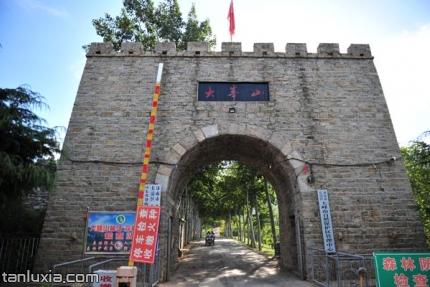 長清齊長城景點:大峰山齊長城入口