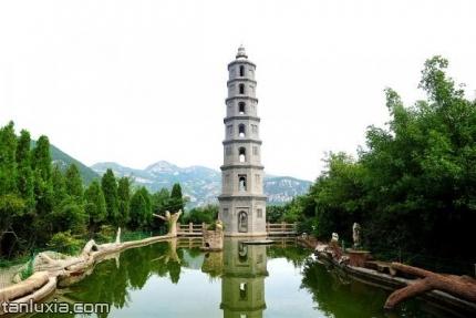 章丘三王峪景區景點:太極塔