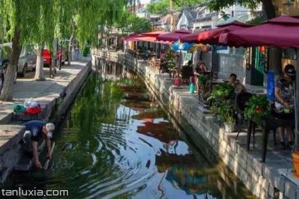 濟南曲水亭街景點:曲水河