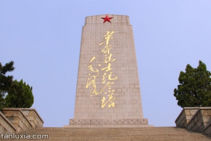 英雄山風景區景點:革命烈士紀念塔