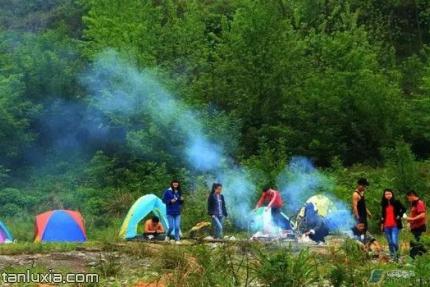 濟南黃河森林公園景點:露營