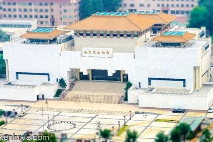 山東省文化館景點:山東省文化館主樓