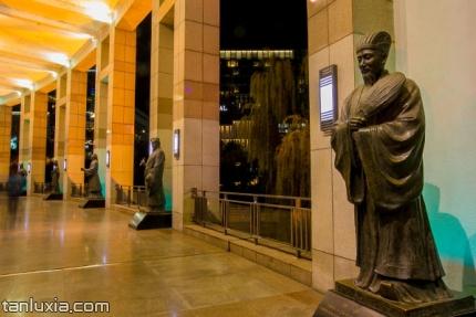 泉城廣場景點:文化長廊
