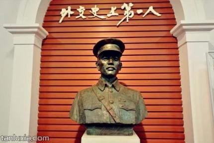 蔡公時紀念館景點:外交史上第一人塑像