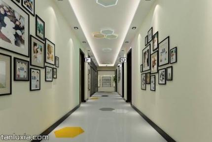 济南星工坊·飞尔姆乐园景点:走廊