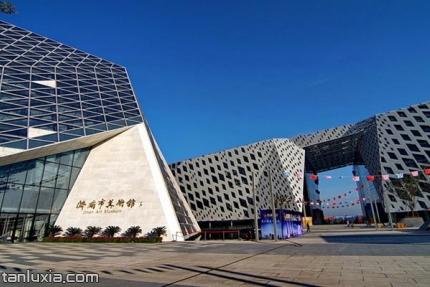 濟南市美術館景點:濟南市美術館入口