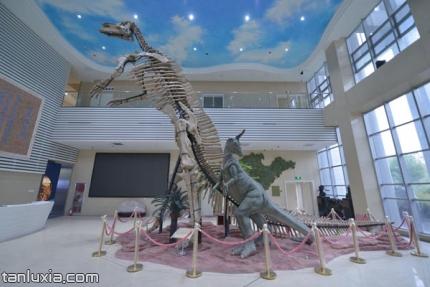 山东省地质博物馆景点:序厅