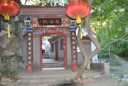 濟南龍洞風景區景點:龍峪觀