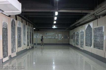 山东石刻艺术博物馆景点:碑刻拓片
