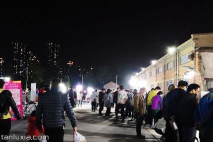 清河北路夜市景点:夜市