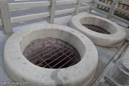 玉环泉景点:圆井泉眼