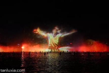 泉城夜宴·明湖秀景点:第一章:盘古开天地 黄河育先贤