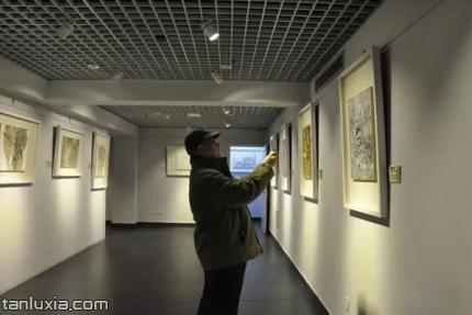 大美墨韵艺术馆景点:展厅