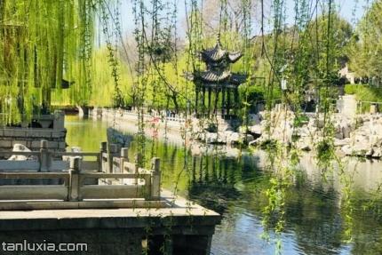 济南护城河景点:护城河美景