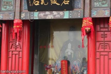 千佛山碧霞祠景点:泰山奶奶之神位