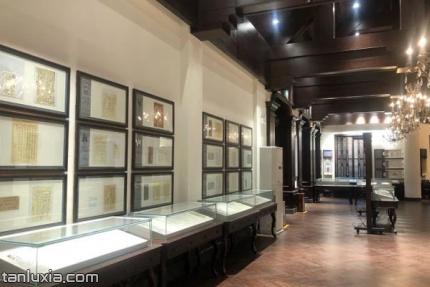 华夏书信文化博物馆景点:展厅
