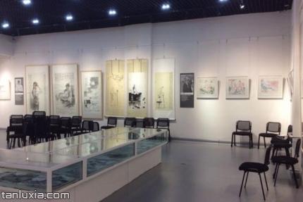 经纬美术馆景点:展厅