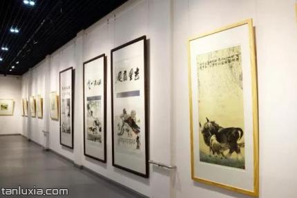 经纬美术馆景点:展品