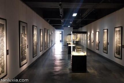 山东金石书法博物馆景点:展厅