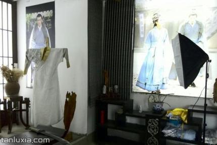 山东广播电视台博物馆景点:汉服展馆