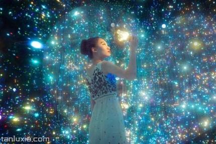 济南星空3D艺术展怪屋景点:璀璨星空