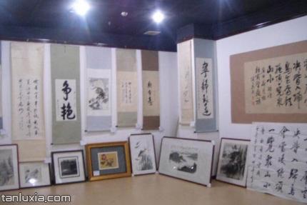 德吉轩美术馆景点:展品
