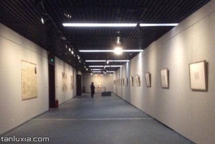 山东新闻美术馆景点:展厅