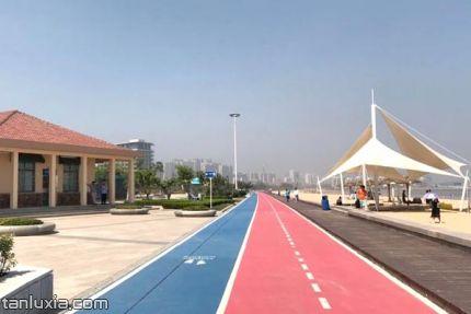 灵山湾海滨公园景点:跑道