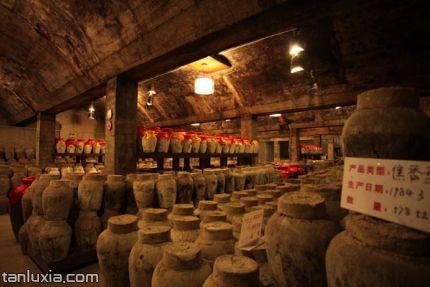 即墨老酒博物馆景点:百年酒窖