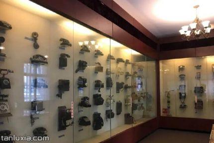 青岛邮电博物馆景点:一楼大厅