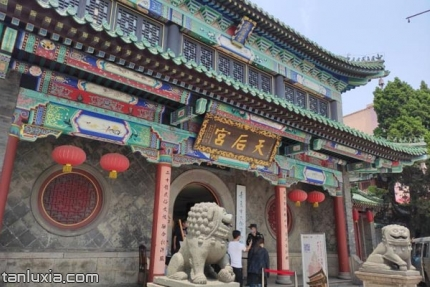 青岛市民俗博物馆景点:天后宫
