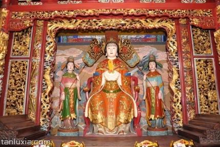 青岛市民俗博物馆景点:天后正殿