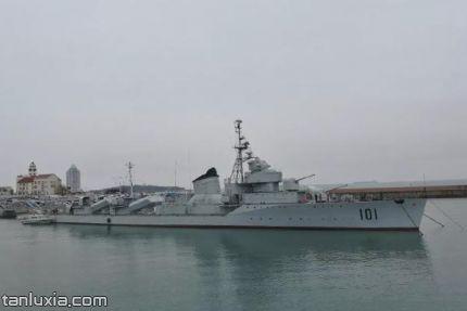 中国海军博物馆景点:鞍山舰