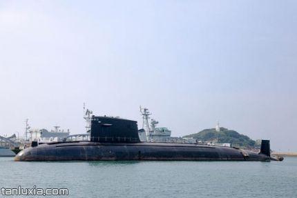 中国海军博物馆景点:核潜艇