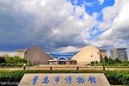 青岛市博物馆景点:青岛市博物馆入口