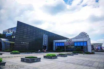 青島奧帆博物館景點:奧帆博物館外景